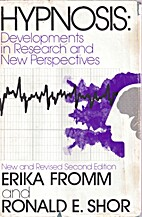 Hypnosis: Developments in Research and New…