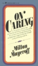 On Caring by Milton Mayeroff