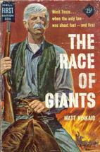 The race of giants by Matt Kinkaid