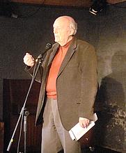 Author photo. Danish poet Knud Sørensen 2011-03-06. Photo Martin88berger. Cropped.