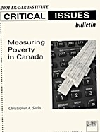 Measuring Poverty in Canada by Christopher…