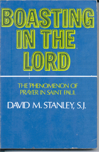 Boasting in the Lord;: The phenomenon of…