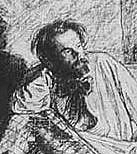 Author photo. Portrait by Léopold Flameng (1831-1911), executed in 1858