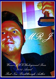 """Author photo. Awards Indie Print Press, Inc Book Awards (2011) Angie's Diary VIP Award (2011) Underground UK Publishing Book Awards (2011) MR.J's relentlessly razor sharp and remarkably rapid fire humor create the sparks that could set the entire sky on fire with wickedly wonderful wordplay. --hamptonroads10.cityspur.com/2010/12/12/2011-years-best-breakthrough-author-award/ dry wit, and tend to split words (rather than hairs) you will find this collection delightful. Okay, to put it plainly - I was laughing like amaniac --gemmariceandauthorpoppet.com/4/post/2011/05/amphigory-almanac-book-review.html From the Author MR.J BIO:Meet Mr. J, a mouth-breathing-barbaric-lousy-writer so self involved that he failed Astronomy 101 because he literally thought the world revolved around him. Someone once stole his identity but it was quickly returned . . . along with several others to choose from. Mr. J is writing a new book or as he called it """"an Amish blog"""". It will probably have more unread pages than crack dealer's beeper during the 80's. From the Inside Flap """"For his first book, Jones """"trott[ed] the uncharted blue marble spinning in the abyss of star sprinkled doubt orbiting the galaxy of inevitable failure, frustration,and disappointment. I had no Rosetta stone, nocompass, no archetypal template or formula toguide me. I was lost but kept moving forwardat a steadfast and unwavering pace. I was likeLewis or Clark exploring the ragged edges of theuniverse.""""M&C NEWS From the Back Cover """"Incidentally,I started by writing jokes and they werehebetudinous humor drenched in maladroit mediocrity.Subsequently, I became a preponderantlyprolific penman. Parenthetically, some jokesfrom the stage made it to the page."""" Such humorexists in jokes like: """"I graduated class president,prom king, valedictorian . . . Man, I miss homeschool. Sure every time I look in the mirror it'sa class reunion, snow days are never canceled,but when your body is the student body there'sno need for roll call at """