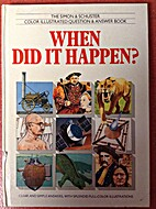 When Did It Happen? by Lesley Firth