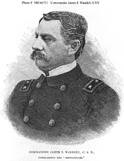 Author photo. Line engraving published circa the later 19th Century. (history.navy.mil)