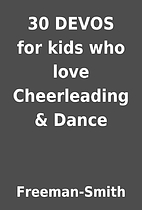 30 DEVOS for kids who love Cheerleading &…