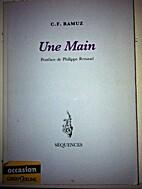 Une Main by C. F. Ramuz