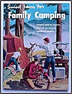 Sunset family camping