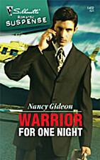 Warrior for One Night by Nancy Gideon