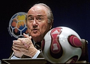 Author photo. Joseph S. Blatter, 2007. Photo by Marcello Casal Jr. / Agência Brasil.