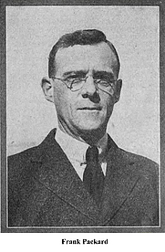 Author photo. Frank L. Packard (Canadian novelist) (note that many of the images of FLP are actually the American architect...)