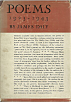Poems, 1923-1943 by James Daly
