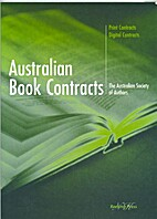 Australian book contracts : print contracts,…