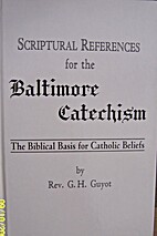 Scriptural references for the Baltimore…