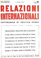 10. 1-25 : Relazioni Internazionali dal 1…