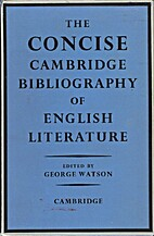 The concise Cambridge bibliography of…