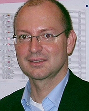 Author photo. Mathematician Christian Hesse, Chess Olympiad 2008