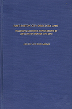 First Boston city directory (1789):…