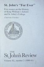 The St.John's Review (Vol. XL-XLIX)