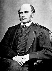 """Author photo. From """"The Life, Letters, and Labors of Francis Galton"""" by Karl Pearson."""