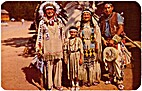 Chief Running Horse and Family