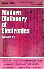 Modern dictionary of electronics by Rudolf…