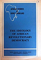 The ideology of African revolutionary…