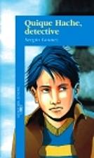 Quique Hache, detective by Sergio Gomez