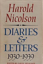 Harold Nicolson Diaries and Letters…