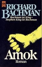 Rage by Richard Bachman