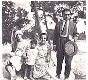 Author photo. From Wikipedia: Karyotakis and his family in Preveza