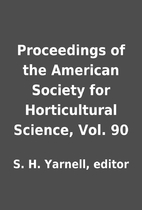Proceedings of the American Society for…