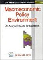Macroeconomic Policy Environment: An…