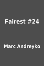 Fairest #24 by Marc Andreyko