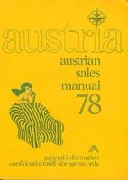 Austria: Austrian Sales Manual 78 by Austria…