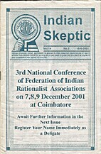 Indian Skeptic Vol. 14 No. 2, 15-6-2001 by…