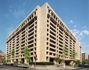 Author photo. IMF Headquarters, Washington DC.  Photo courtesy of the IMF.