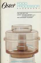 Oster 5900 Food Processor…