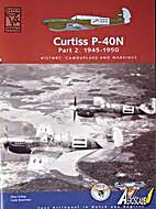 Curtiss P-40N Part 2. 1945-1950 (Dutch…