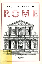 Architecture of Rome : A Nineteenth Century…