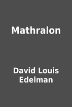 Mathralon by David Louis Edelman