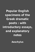 Popular English specimens of the Greek…