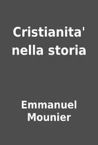 Cristianita' nella storia by Emmanuel…