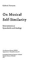 On Musical Self-Similarity: Intersemiosis as…