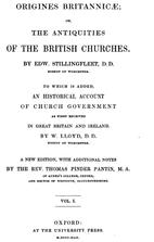 Origines Britannicae, or, The antiquities of…