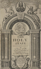 The holy state by Thomas Fuller
