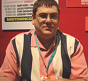 Author photo. Midtown Comics signing @ New York Comic-Con, photo by Lampbane