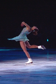 Author photo. Ekaterina Gordeeva solo performance at the Smucker's Stars on Ice performance in Bridgeport, CT (USA) March 25 2007, by Erin Nikitchyuk