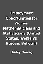 Employment Opportunities for Women…